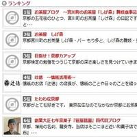 京つうブログランキング6位!