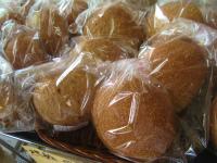 水と小麦だけのパン種で作ったパン