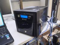 テラステーションのHDDを2個とも交換する