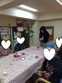 【石田事業所】ブリザードフラワー教室