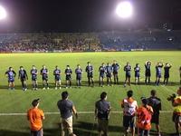 熱い試合をありがとう。
