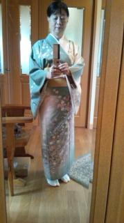 昨日の着物