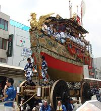 祇園祭りが終わると京の夏が来る