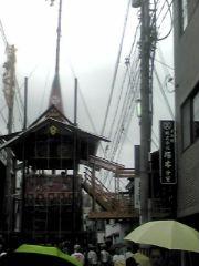 祇園祭の山か鉾