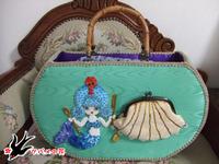 清菊さん作バッグ 人魚姫
