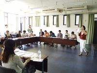 同志社大学での懐紙講座