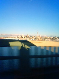 North Harbour Bridgeから
