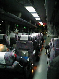 初夜行高速バス
