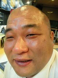 久し振りに会った、らっぺ軍団総長キオラ・らっぺ・洋一郎