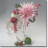 和花の髪飾り