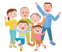 幸せ健康家族