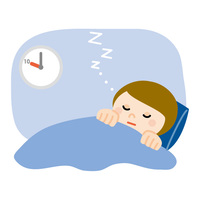 睡眠 身体が重い 冷えている