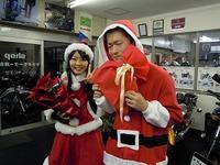 サンタさん登場!!