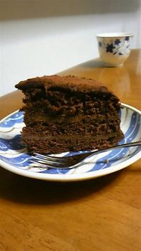 バレンタインに♪マル秘チョコケーキ レシピ