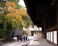 岡崎・旧武徳殿にて