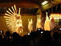 祇園祭2009・7月10日 神輿洗式の後に舞踊奉納。