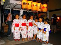 祇園祭2009・宵山:豊園真榊の粽売り