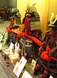 祇園祭2009・弓矢町武具飾り・その2