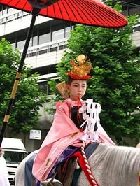 祇園祭2009・還幸祭 久世駒形稚児