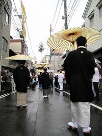 祇園祭2010・曳き初め~新町界隈 2010/07/14 08:00:00