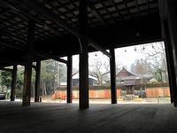 日吉大社・山王祭2011 桟敷組 3月20日