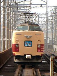 【特急】雷鳥8号・比叡山坂本駅を通過! 2011/02/25 13:28:07