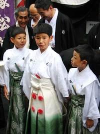 祇園祭2006 古式一里塚松飾 7月14日