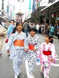 祇園祭2006 長刀鉾 曳き初め 7月12日