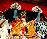 祇園祭2006 長刀鉾・注連縄きり 7月17日