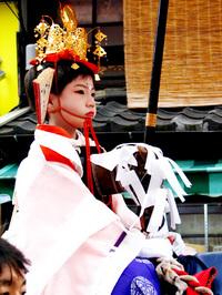祇園祭2006 還幸祭・久世駒形稚児 7月24日