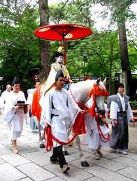 祇園祭2006 長刀鉾稚児社参 7月13日