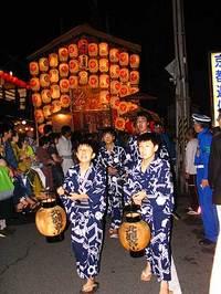 祇園祭2006 新町通の宵山飾り 7月16日